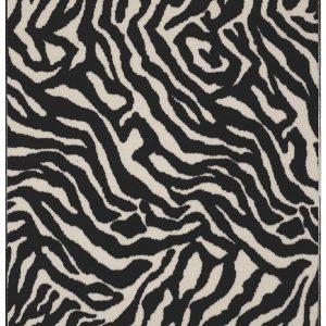animal printed area rug