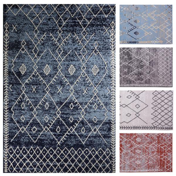 Trellis Pattern Rug