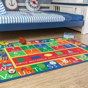 educational kids area rug