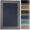 outdoor geometric area rug