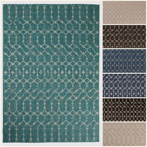 buy outdoor geometric rug online