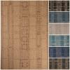 outdoor geometric pattern rug