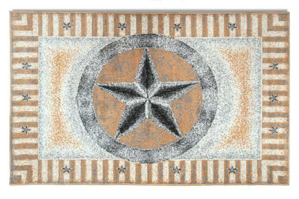 Texas Star Rug Beige Rustic