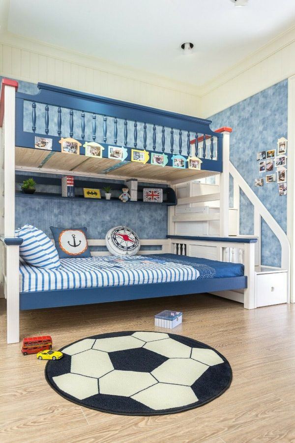 Round Play Area Rugs for Kids